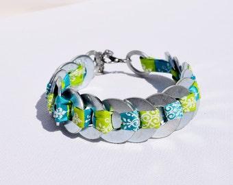 Silver Washer Bracelets