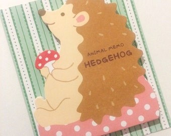 Die Cut Hedgehog Paper