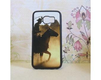Cowboy - Rubber Samsung Galaxy S3 S4 S5 S6 Case