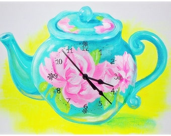 Tea time! clock