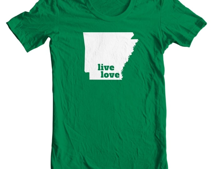 Arkansas T-shirt - Live Love Arkansas - My State Arkansas T-shirt