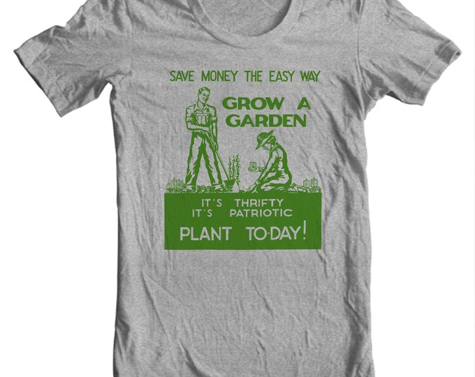 Grow A Garden World War II Poster T-shirt