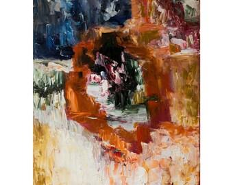 Abstract Painting, Oil Painting Print, Original Art by Lusine Hakobyan, Fine Art Print, Wall Art, Abstract, Wall Decor, Canvas Art