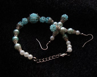 Handmade Beadwoven Jewelry Set