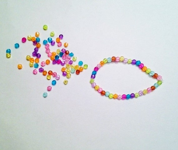 items similar to make your own beaded bracelet kit