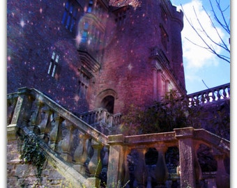 Dreamy Art Print, Fantasy Photography, Fairytale Castle Art, Printable Art, Fine Art Photo, Fairytale Art