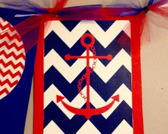 Fourth of July Banner | America Banner | USA Red White and Blue