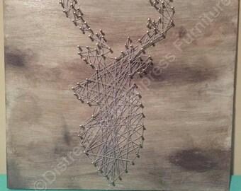 String Art (Deer)
