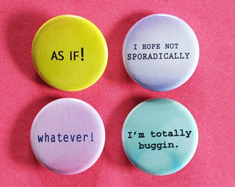 Clueless Inspired Pins