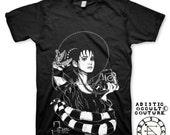 Lydia Deetz Black mens T-shirt