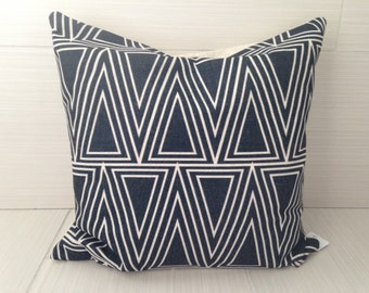 Black Triangle Pillow Cover *on sale