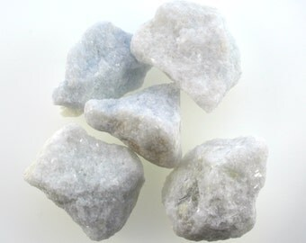 Snow calcite rough crystal, raw calcite one piece