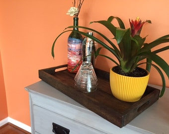 Functional Decorative Tray - Pallet Wood