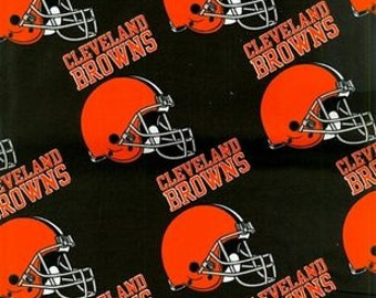 """Valance 55""""x15""""  panel """"Cleveland Browns"""""""