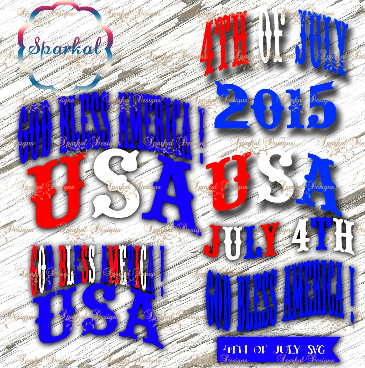 4th Of July SVG Cutting Files T-Shirt Quotes Svg Cutting