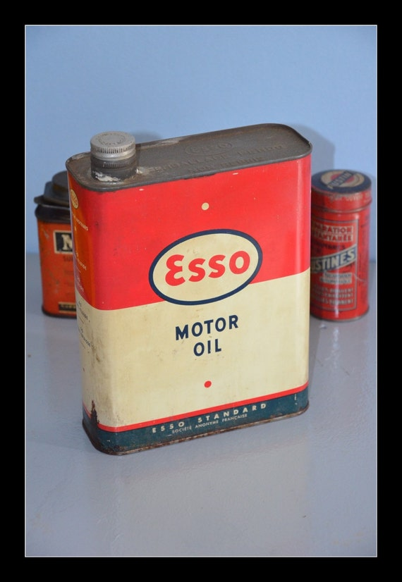 Vintage Esso Oil Can Vintage Esso Oil Can
