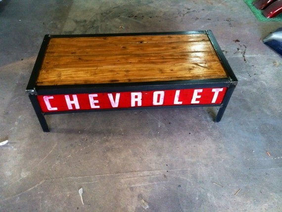 - Items Similar To Chevrolet C10 Tailgate Coffee Table On Etsy