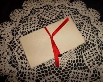 Vintage Envelopes, 4 X 6.5 inches, set of 5