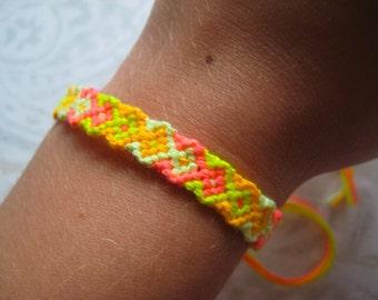 Friendship Bracelet - Hot Neons