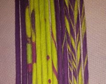 60 double ended handmade custom wool dreads 12-14 inches long