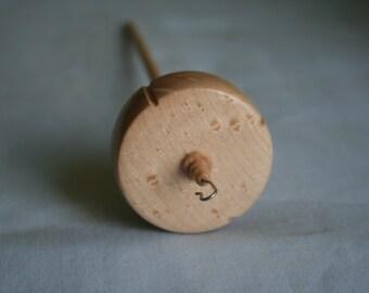 50mm Birds Eye Maple drop spindle