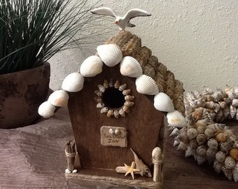 Seashell Birdhouse