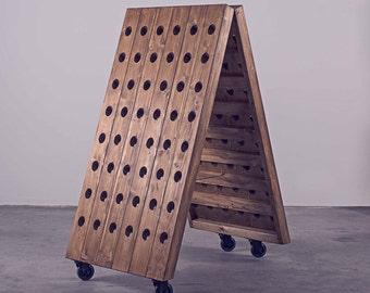 Wine rack mobile | Industrial style
