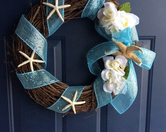 Cape Cod Beach Wreath