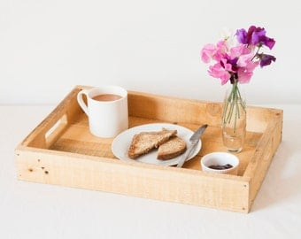 Wooden Tea Tray - Serving Platter