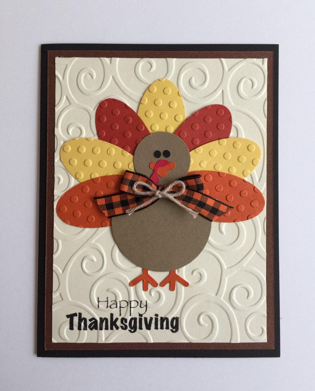 Diy Handmade Card Ideas: Handmade Turkey Thanksgiving Card