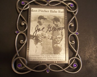 Babe Ruth Autographed Picture