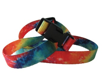 Tie Dye Chalk Bag Belt