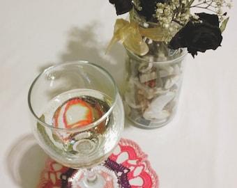 4 Crochet Coasters