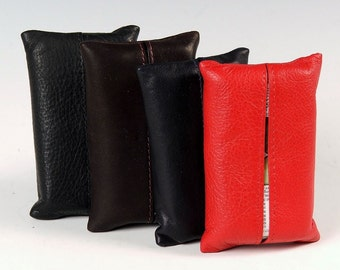 Soft leather tissue case