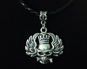 No.5 Winged Skull Necklace