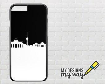 Berlin City Skyline iPhone 4S Case, iPhone 5S Case, iPhone 5C Case, iPhone 6 Case, iPhone 6 Plus Case