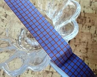 Purple Grid Washi Tape