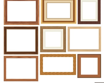 Wood Frames Clipart