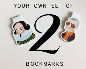 Your Own Set of 2 Bookmarks