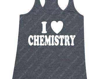I heart Chemistry - Ladies' Tank Top