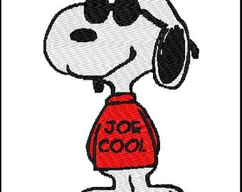 Snoopy Embroidery Design