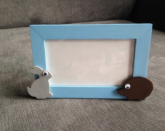 Children's photo frames, animal photo frame, children's room decor, animal lovers