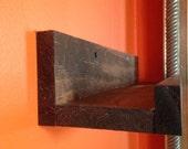 Handmade, floating shelf, wall shelf, book shelf, wood shelf