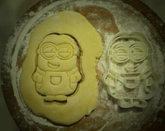 3D Printed minion cookie cutter