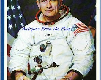 1974 NASA Original Press Release Photo jscl-119, Astronaut Donald K. Slayton