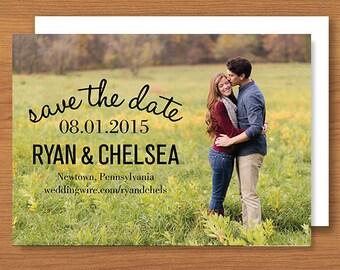Save the Date // Printable, DIY Wedding, Custom Designs