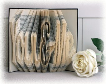 "Book Folding Pattern ""You & Me"" + FREE Tutorial"