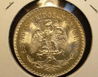 Silver Mexico Peso 1943
