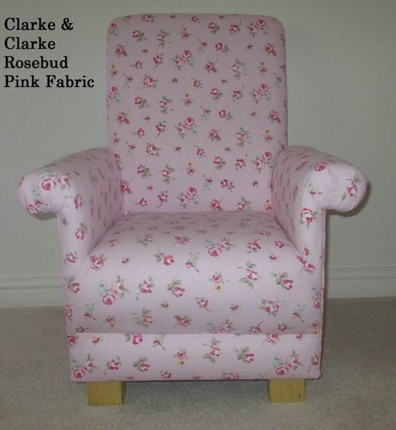 Clarke Amp Clarke Rosebud Fabric Child S Chair Kids Armchair