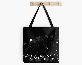 Glitz and Glamour High Contrast Bokeh Tote Bag - Assorted Sizes -